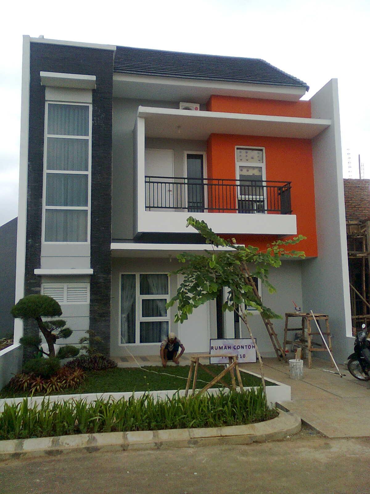 contoh rumah minimalis sederhana 2 lantai Tipe Rumah