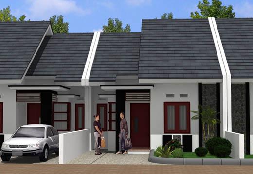 desain atap rumah minimalis modern tipe rumah minimalis