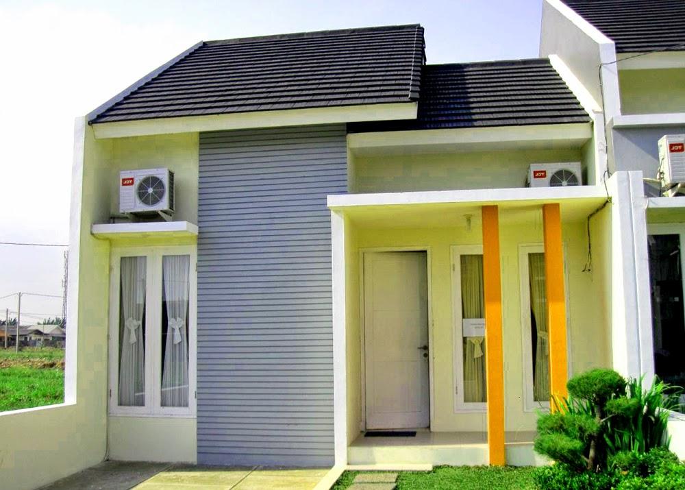 contoh rumah minimalis tye 36 dengan 1 teras tipe rumah