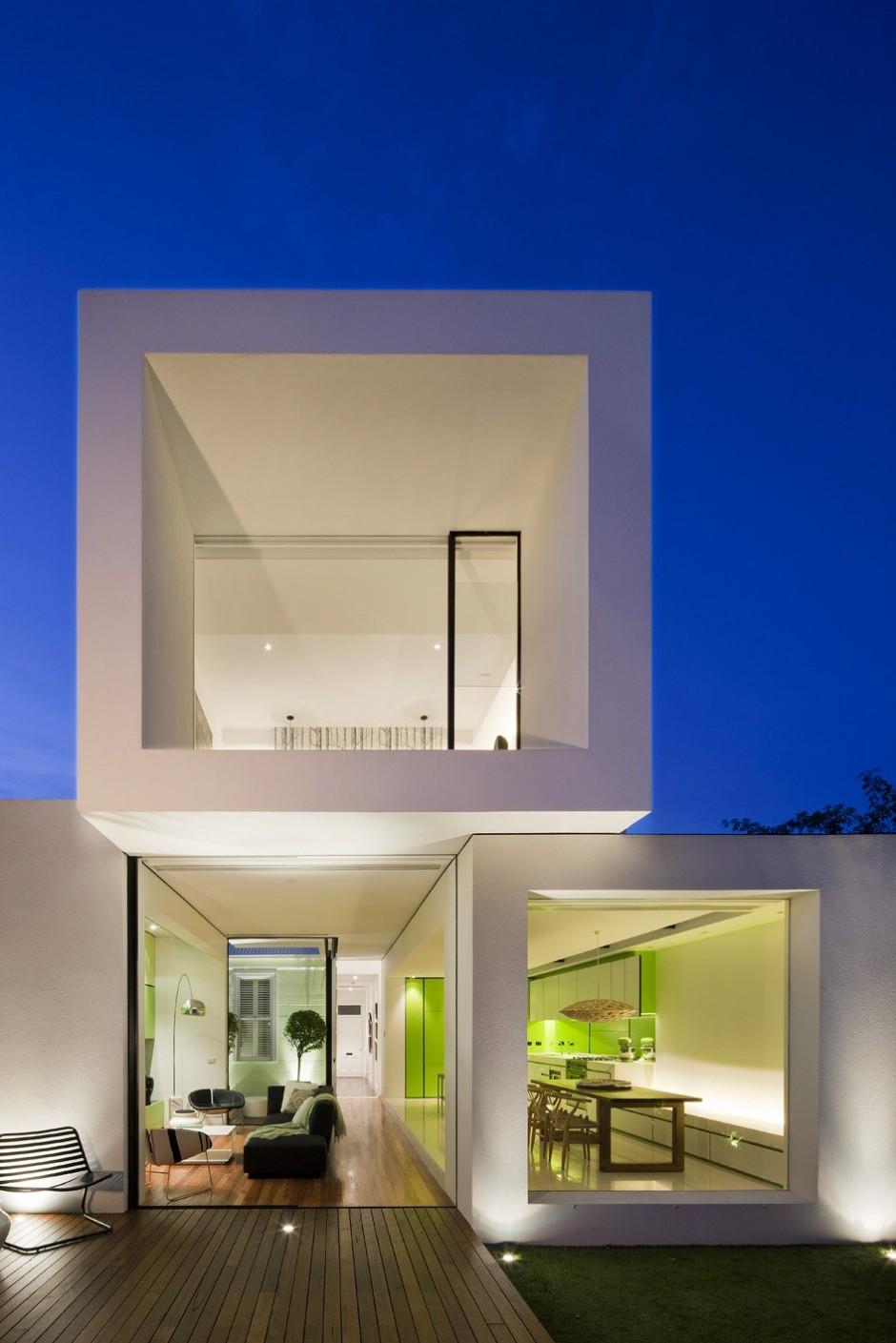 Rumah Minimalis Dengan Bentuk Kreatif