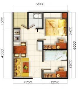 Konsep Dan Gambaran Denah Rumah Minimalis Type 21