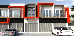 Desain Ruko Minimalis 2 Lantai Terbaru Yang Modern